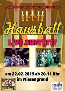 Hausball Männerballett Hecken @ Hecken | Wadern | Saarland | Deutschland